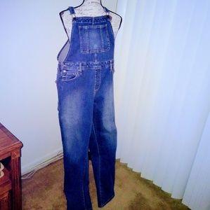 Farmer Bib Jeans - women's